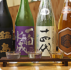 日本酒50種類取り揃えています。是非お越しください!梅田の居酒屋で飲み放題なら当店 ひもの野郎『ひものやろう』へお越しください!!ランチから日本酒を個室に負けない空間で堪能できるお店といえば梅田のナビオにあるひもの野郎『ひものやろう』にお任せ下さい。