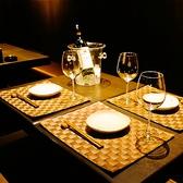 【テーブル席2/3/4名席】広々とした空間をご用意いたしました。