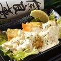 料理メニュー写真おいしいカラアゲ(塩レモンorおろしポン酢or自家製タルタル)