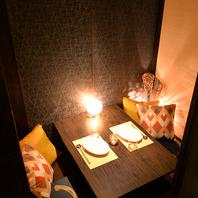 ◆全席完全個室◆ 河原町女子に話題のPrivate個室バル♪