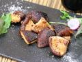 料理メニュー写真ジャンボ椎茸のガーリックソテー