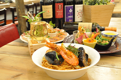 魚とお野菜のイタリアン アルバータ KARASUMAのコース写真
