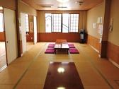2階座敷 畳・絨毯 25畳 25畳 20畳の3部屋ございます。
