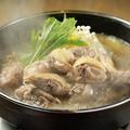 料理メニュー写真はち鳥名物 奥三河鶏と濃厚スープのかしわ水炊き鍋 1人前