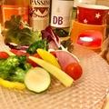 料理メニュー写真岡山県真庭市のかぶりつきバーニャカウダー
