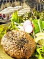 【ランチ】白老牛100%ハンバーグ定食980円