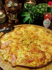 料理メニュー写真オリジナルミックスピザ
