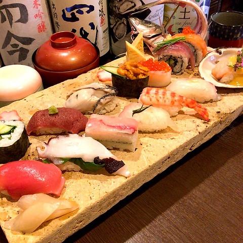◆当日OK◆特選寿司《14貫》盛り合わせ 1,380円