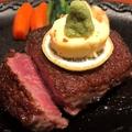 料理メニュー写真黒毛和牛<A5ランク>特上ヒレステーキ 正味 120g