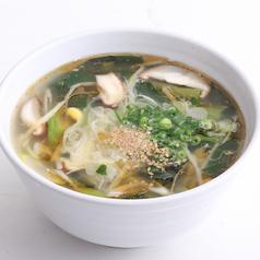 玉子スープ/わかめスープ/野菜スープ/クッパ