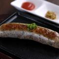 料理メニュー写真イタリア産ソーセージ サルシッチャのグリル