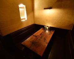 6名様までOK!BOXのお席☆個室ではございませんが周囲が白壁で囲まれている為、限られたプライベート空間をお約束できます☆歓送迎会 記念日女子会で ご利用ください