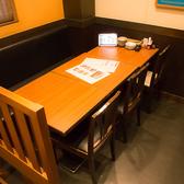 ≪6名様用:テーブル席≫リーズナブルにお楽しみいただけるので学生さんにも◎人数に合わせてぴったりのお席までご案内いたします!ご要望等ございましたら店舗まで♪