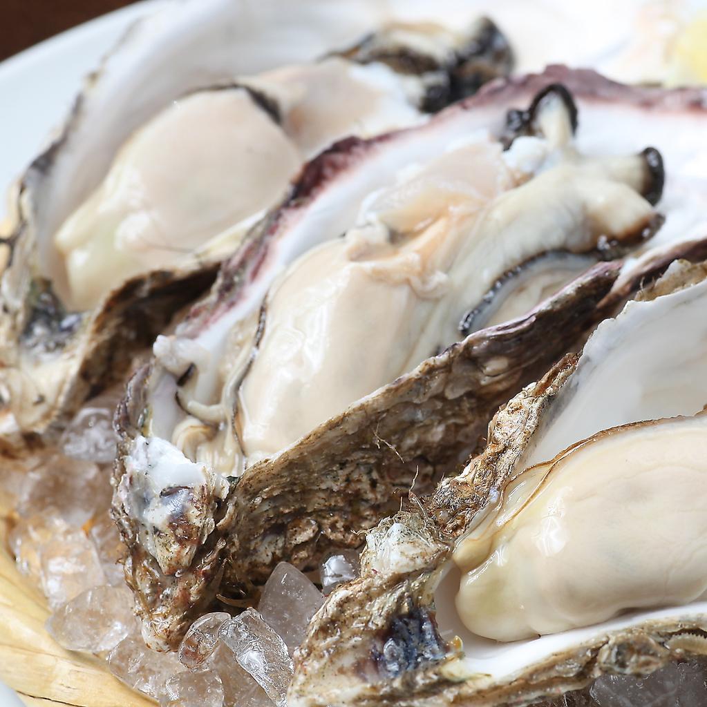 新鮮!漁師直送の厚岸産ブランド牡蠣『マルえもん』は生・焼き・蒸しお好みで!1個/290円(税抜)