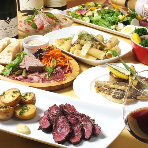 元帝国ホテルのシェフが手がける、カジュアルなフレンチ・ワイン食堂♪