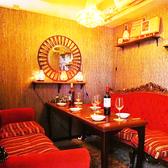 【10名様様ご宴会向け個室】会社帰りなどのちょっとした宴会に最適な個室のお席もご用意しております。優雅な照明で居心地の良い落ち着いた空間…ラグジュアリー個室。女子会・合コン・誕生日のお祝い等、多様なシーンに合わせてご利用ください。