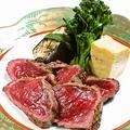料理メニュー写真肉たたき(伊予牛)