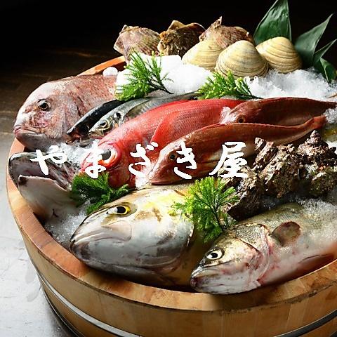 これぞ鮮魚!元漁師の大将が毎朝厳選して仕入れる魚をお手頃価格で楽しめる店。
