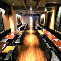 【栄の個室完備居酒屋】個室は最大20名様まで対応可能!