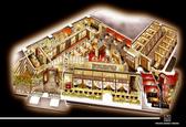 店内の鳥瞰図、全200席の空間をご覧下さい!