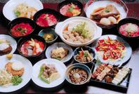秋田の食材を中心に田舎料理ならではの味をご賞味下さい