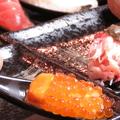 料理メニュー写真新名物!原価ど返し一口スプーン寿司【うにイクラ】