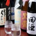 多種多様の日本酒をご用意しております。