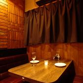 落ち着いた雰囲気の店内☆ゆったりとお食事をお楽しみいただけます♪ご要望などお聞かせください!