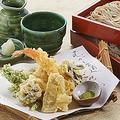 料理メニュー写真天ぷら蕎麦
