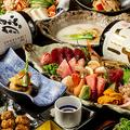 料理メニュー写真神田で目にも美しい創作和食♪