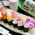 美味しいお酒と美味しいお寿司・・・