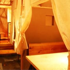 4名様のBOX個室。~新宿 個室居酒屋 新宿宮川 野村ビル店~☆新宿 個室 居酒屋 宴会 接待