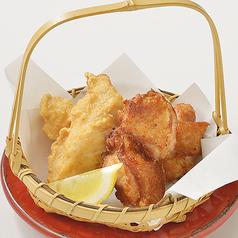 欲張り!「鶏の唐揚げ」と「塩ザンギ」の合盛り 5個【普通盛】