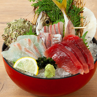 【とびきり新鮮な魚介だからこそ、味わえる美味な料理】