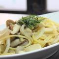 料理メニュー写真ペペロンチーノ/ベーコントマトパスタ/和風きのこパスタ