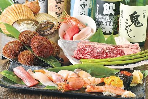 ランチもディナーも評判の居酒屋ダイニング!函館ならではの新鮮な味をご堪能あれ!!