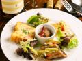 料理メニュー写真cavatappi季節の前菜盛り合わせ4種