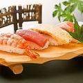 料理メニュー写真お寿司付きコース限定