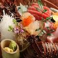 【4】豊洲より直接仕入れる新鮮な魚を使用!毎朝スタッフ自ら、市場に行き良い魚を選んでいます。