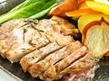 料理メニュー写真留寿都産もち豚のソテー