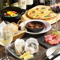 本格イタリアン・スパニッシュ創作料理の数々