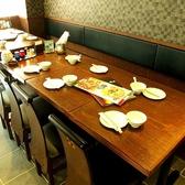 テーブルも人数に合わせて、仕様変更可!