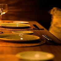 宴を彩る上質なプライベート空間…