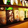 全国各地から季節の旬ごとに変化するお料理に合う日本酒を常時40種類。大将がご要望に合わせて選びご提供いたします。