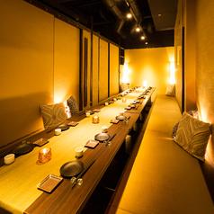 個室は、5~10名様で調整可能です。