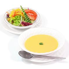 スープ&サラダセット