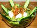 料理メニュー写真キムチと豆腐のあっさりゆずサラダ