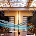 空調システムは24時間換気を実施し、常に空気を入れ替えています。各室換気の徹底することで安心の空間を生み出しています。