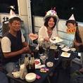 ご家族のお食事やお誕生日にもシーンに合わせた誕生日の演出を致します。