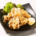 料理メニュー写真鶏の唐揚げ 醤油味/塩麹味
